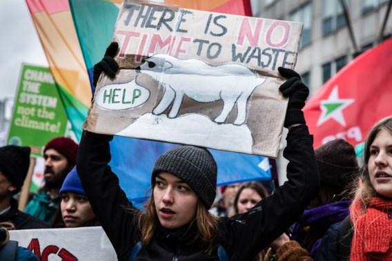 'België is het epicentrum  van het Europese klimaatprotest'