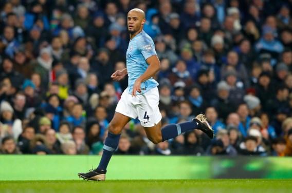 Manchester City kan dinsdag nog niet op Kompany rekenen