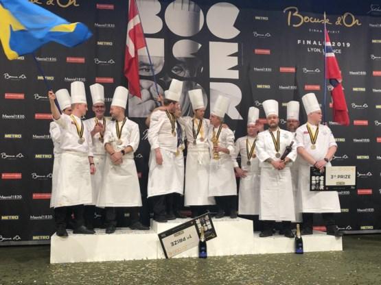 Lode De Roover achtste op wereldvermaarde kookwedstrijd Bocuse d'Or