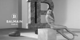 Cara Delevingne gaat uit de kleren voor Balmain