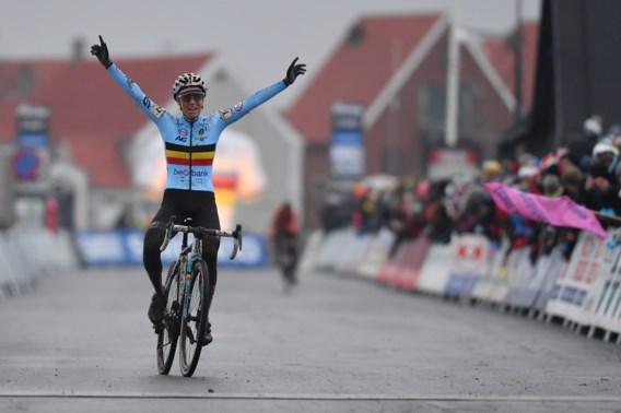 Sanne Cant vloert Nederland: Kempense is voor de derde keer op rij wereldkampioene bij de vrouwen