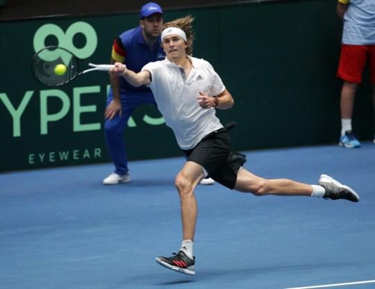 Alexander Zverev leidt Duitsland naar finaleweek van Davis Cup, maar die zal hij zelf niet spelen
