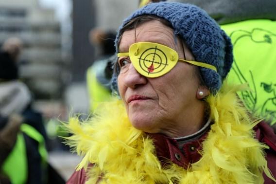 Meer dan 58.000 gilets jaunes de straat op in Frankrijk