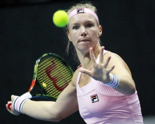 WTA Sint-Petersburg - Nederlandse Kiki Bertens pakt eerste finaleticket