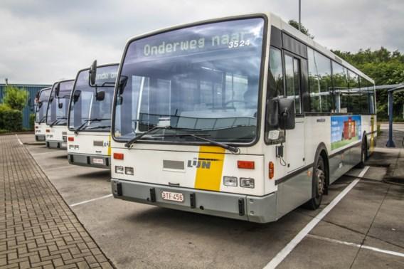 Zware hinder in heel Limburg door staking chauffeurs De Lijn