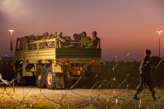 VS sturen 3.750 extra soldaten naar grens met Mexico