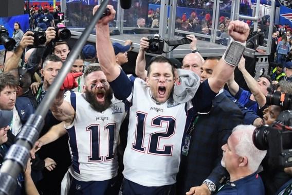 New England Patriots verslaan Los Angeles Rams in Super Bowl met laagste score ooit, record voor legende Tom Brady