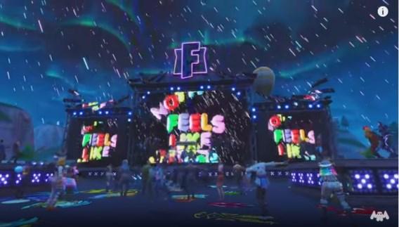 Miljoenenpubliek voor virtueel concert in Fortnite
