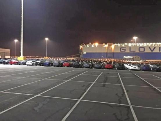 'Schip vol Tesla's' aangemeerd in Zeebrugge