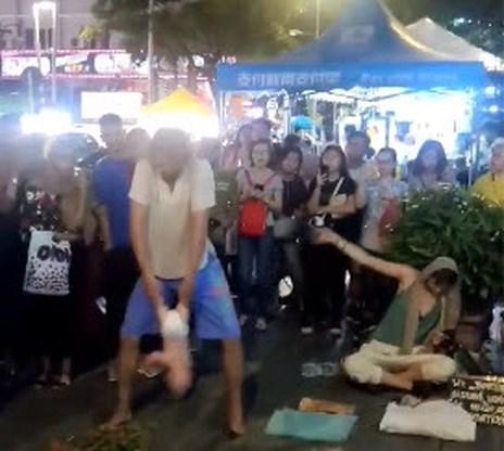Russisch koppel opgepakt in Maleisië voor act met baby