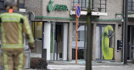 Explosieven ontdekt na mislukte plofkraak op bankfiliaal Argenta