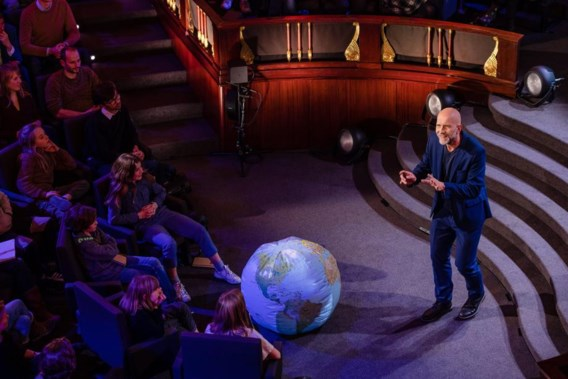 Help, een klimaatactivist op tv