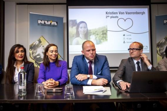 Darya Safai krijgt derde plaats bij Vlaams-Brabantse N-VA