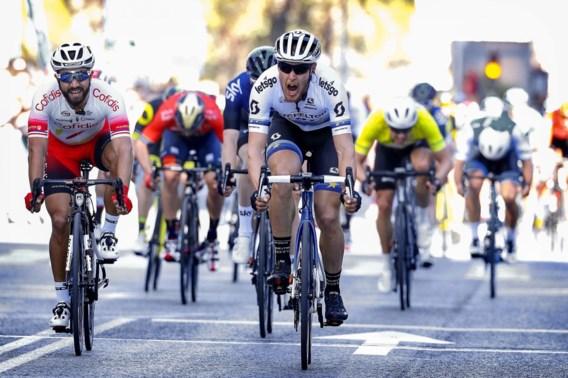 Trentin sprint sneller dan Bouhanni in Ronde van Valencia