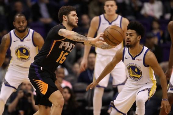 Golden State Warriors pakken op de valreep de volle buit in Phoenix