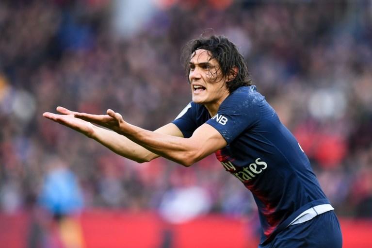 PSG wint, maar verliest na Neymar nu ook Cavani vlak voor confrontatie met Manchester United