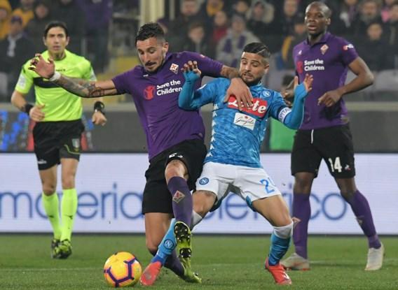 Napoli laat dure punten liggen bij Fiorentina, Radja Nainggolan wint met Inter en geeft beslissende assist