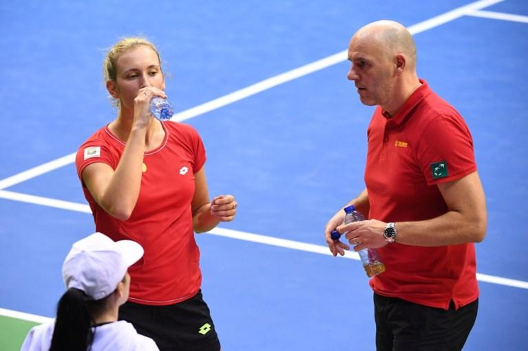 Ook Elise Mertens verliest: België heeft mirakel nodig tegen Frankrijk in de Fed Cup