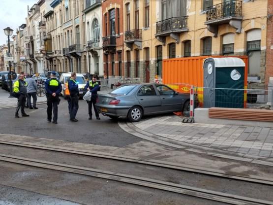 Wilde politieachtervolging in Antwerpen: bestuurder gearresteerd