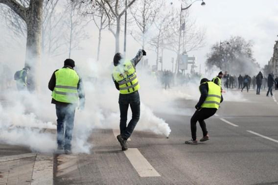 Grote Franse steden zijn 'gele hesjes' beu