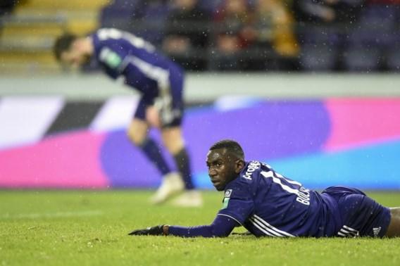 Nieuwe ontgoocheling voor Anderlecht, doemscenario van Play-off II nog lang niet van de baan