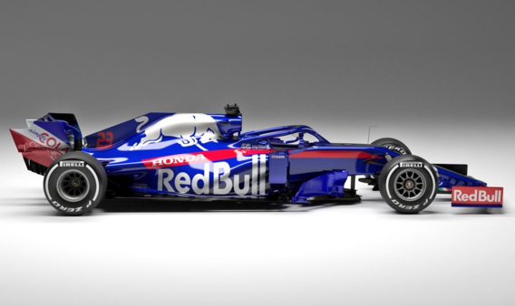 Toro Rosso F1-team presenteert STR14