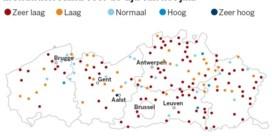 Grondwaterreserves nog lang niet op peil