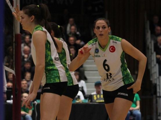 Charlotte Leys strandt met Galatasaray in kwartfinales CEV Cup volley