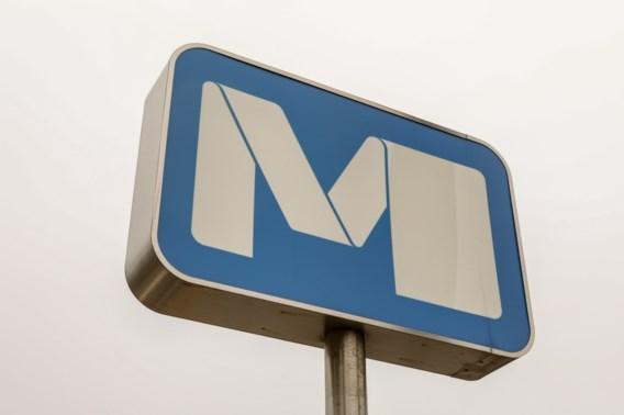 Brand in metrostation Eddy Merckx in Anderlecht: elektrisch systeem aangetast
