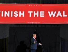 Trump: 'We gaan de muur hoe dan ook bouwen'