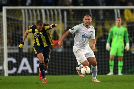 Fenerbahçe wint Europa Leaguewedstrijd tegen Zenit met het kleinste verschil