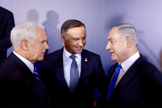 Omstreden top over Midden-Oosten van start in Warschau