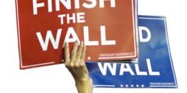 Donald Trump niet blij met compromis over Muur