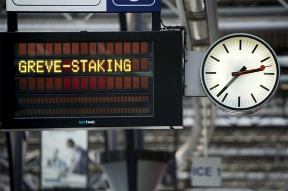 NMBS verwacht dat ruim helft treinen woensdag niet rijdt