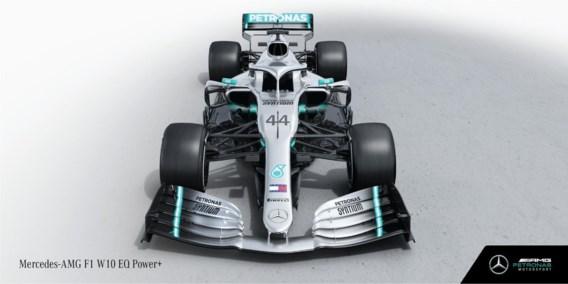 Mercedes F1 team toont nieuwe 'kampioensbolide' van Lewis Hamilton