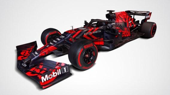 De opvallende nieuwe F1-bolide van Max Verstappen