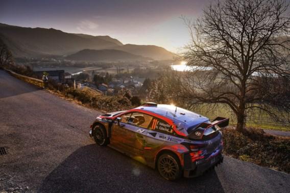 Thierry Neuville is snelste in shakedown Rally van Zweden