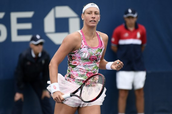 Yanina Wickmayer bereikt halve finales in het Engelse Shrewsbury