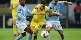 Geplaagd Chelsea wint in Europa League maar Hazard mag slechts invallen, Nainggolan wint met Inter