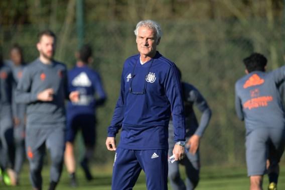 """Anderlecht-coach Fred Rutten is klaar voor de strijd op de Bosuil: """"Er zijn geen makkelijke matchen aan het front"""""""
