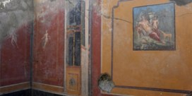 Bijzonder fresco gevonden in Pompeï