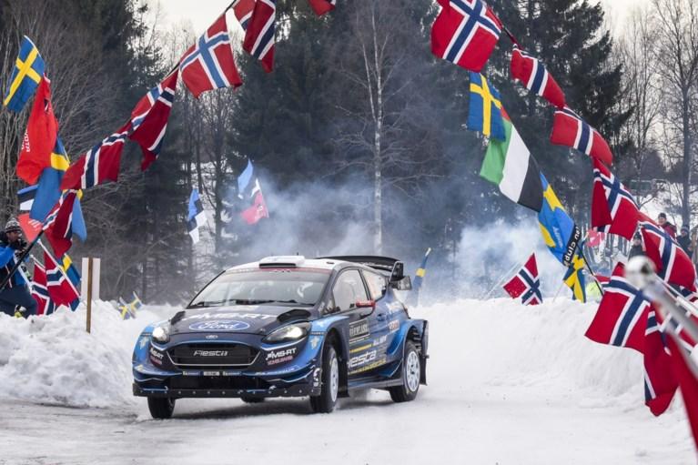 Spektakel in Rally van Zweden: wereldkampioen crasht en geeft op, ook Neuville in de fout en verrassende leider na tweede dag