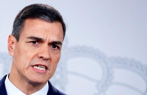 Spaanse premier Sánchez schrijft vervroegde verkiezingen uit