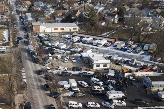 Schietpartij nabij Chicago: vijf burgers dood
