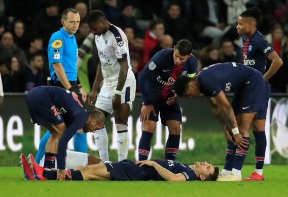 Thomas Meunier (PSG) raakt niet fit voor duel tegen Saint-Etienne