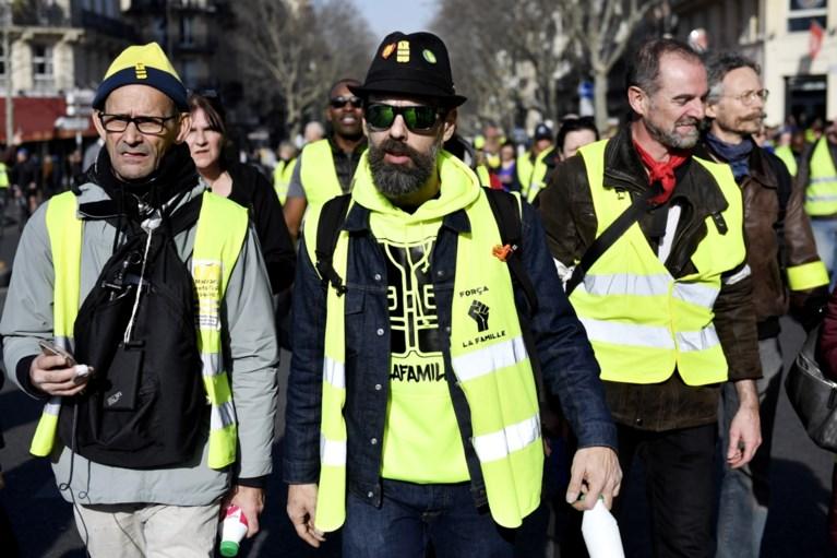 Meer dan 40.000 gele hesjes op straat in Frankrijk