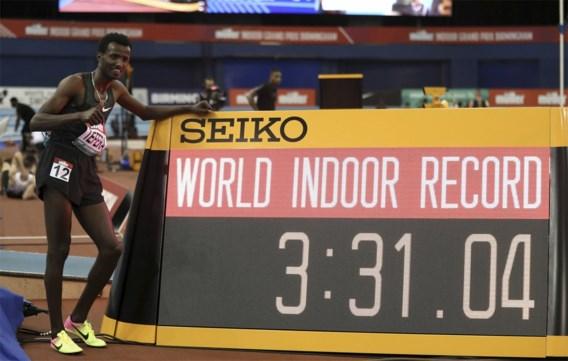 Ethiopiër Samuel Tefera verbetert wereldrecord 1.500 meter indoor