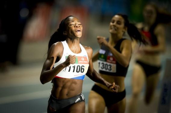 Cynthia Bolingo stelt Belgisch record op 400 meter indoor scherper
