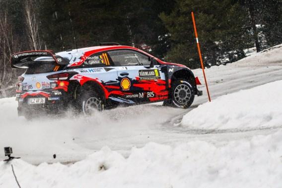 Ott Tänak triomfeert in Rally van Zweden, Thierry Neuville finisht als derde