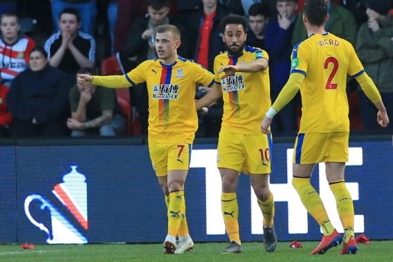 Ook Crystal Palace stoot door naar kwartfinales van FA Cup, Michy Batshuayi voor het eerst in de basis